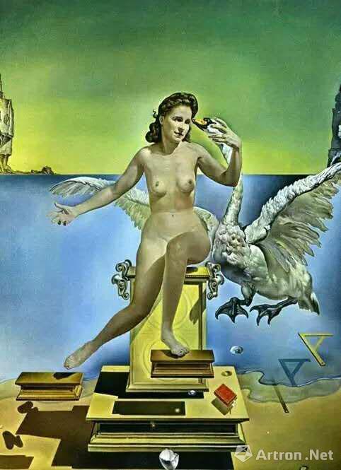 达利《丽达与天鹅》
