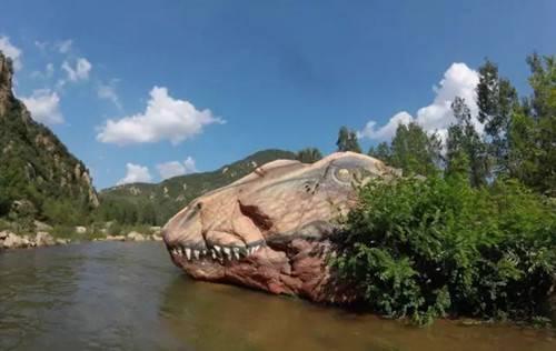 相约汝阳恐龙谷 漂流在远古时代(组图)