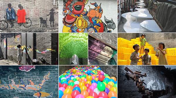 60%艺术计划(图片由中国公共艺术网提供)