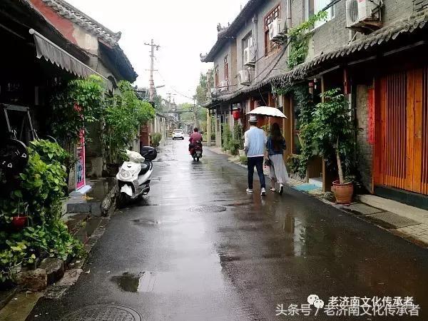 济南府到底有哪些老街巷?