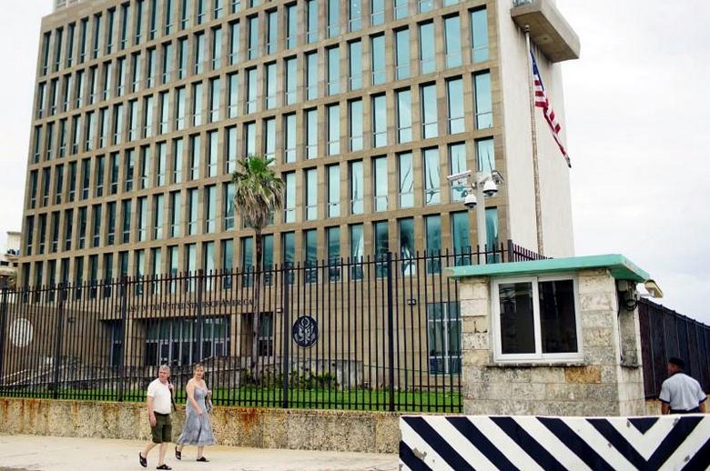 """美驻古巴使馆21人""""神秘""""脑损伤 美方展开彻查(图)"""