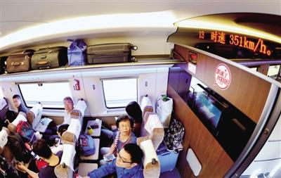 350公里 复兴号 开启中国高铁新时速 而且不涨价