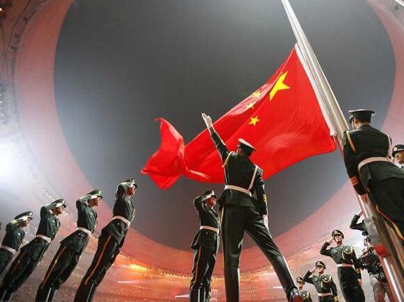中国国旗背景-五星红旗的那些 第一次图片