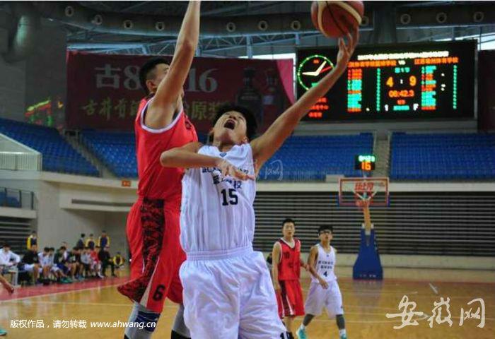 属于全国体育运动学校联合会计划内的篮球赛事。