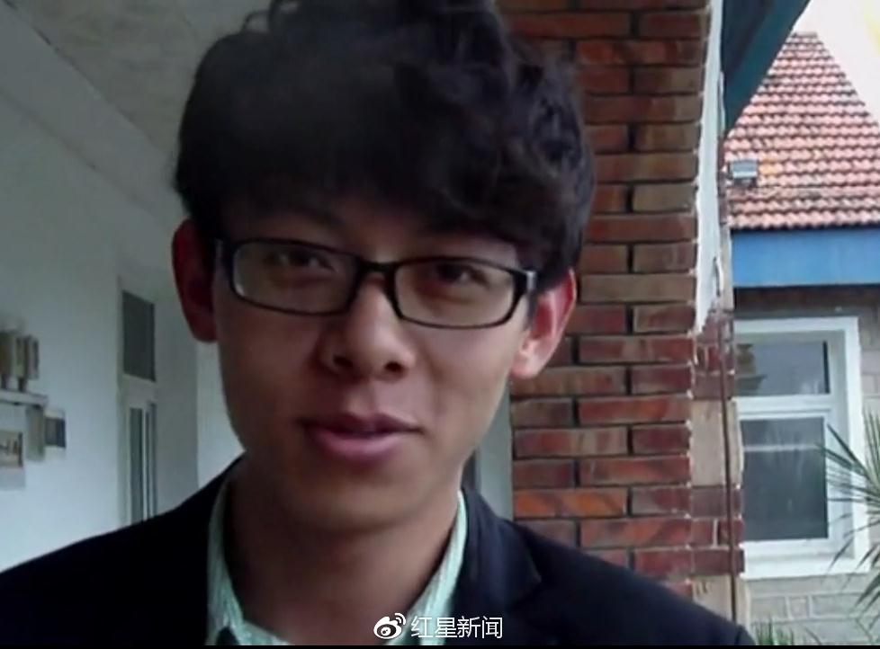 疑似陈世峰的人(视频截图)