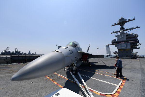 航空母舰--美参联会主席:美军对中俄军事优势正在衰退