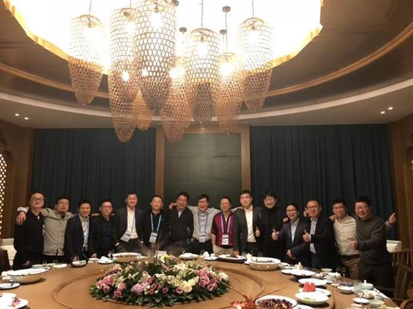 58集团姚劲波乌镇组织饭局:周鸿祎、傅盛同桌