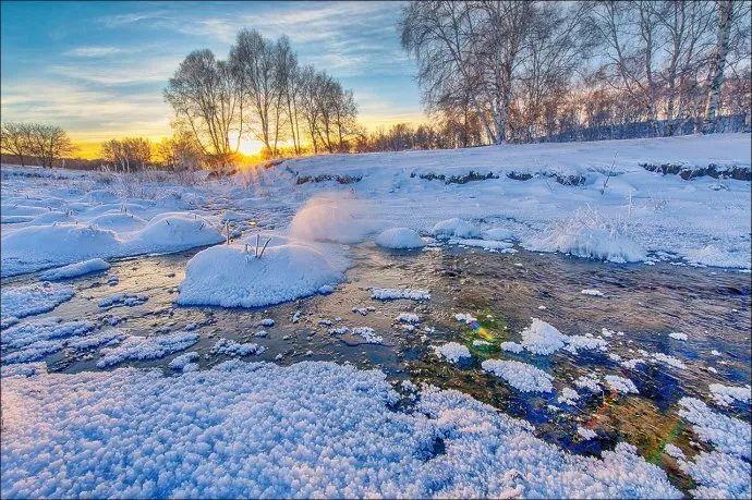 冬天最该去这里 雪景不输北欧处处是大片