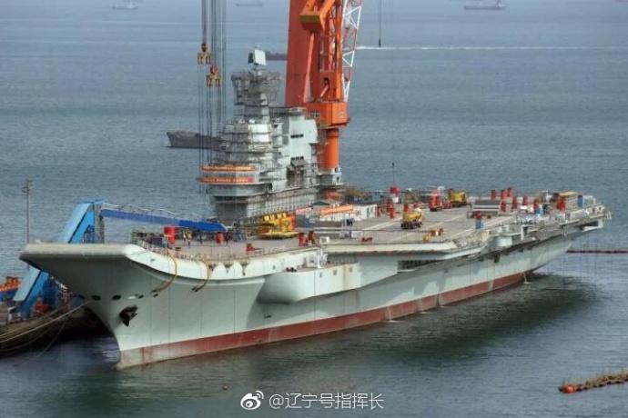 外媒:中国新航母能搭载35架歼15 比辽宁舰多50%