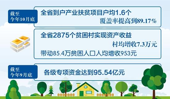 安徽脱贫攻坚十大工程提前完成年度目标 村均增收7.3万元