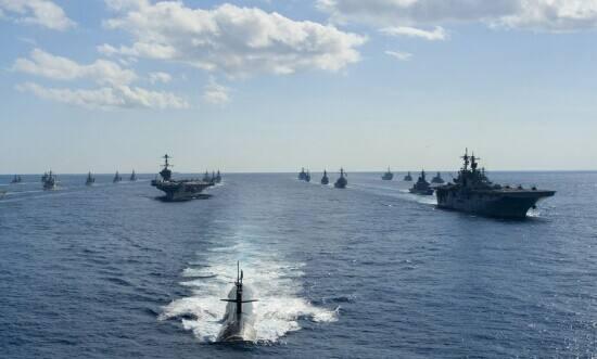 美军6航母战斗群扎堆西太?专家:除非爆发战争