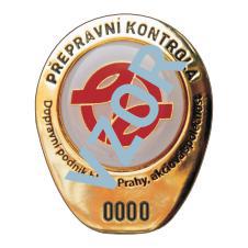 查票员徽章。