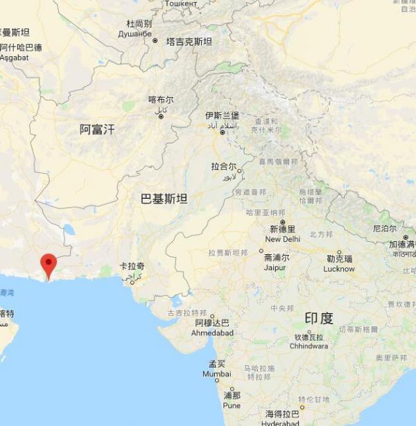 """中国将正在巴基斯坦筑""""第二个大型海空军事基地"""""""