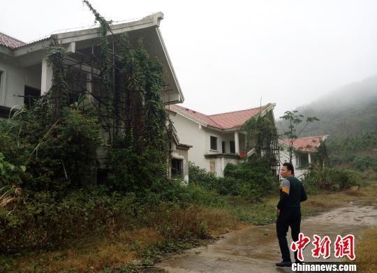 力村安置区现状。 尹海明摄