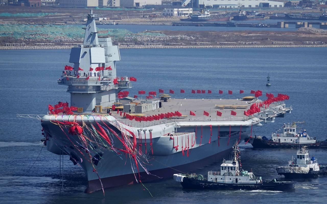 美媒:航母在亚太受欢迎 中国或造6艘日韩紧随(图)