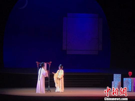梦幻版《牡丹亭》演出现场。 王题题摄