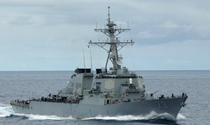 金沙娱乐澳门网址:美国军舰进入黄岩岛12海里_中国海军警告驱离