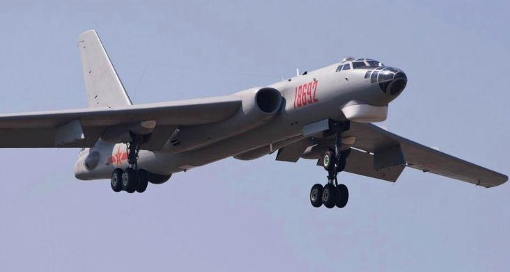 台媒:轰-6G覆盖台湾 有效剪断地区武装防空网