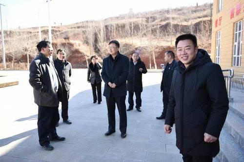 汝阳县领导慰问春节坚守岗位的景区员工