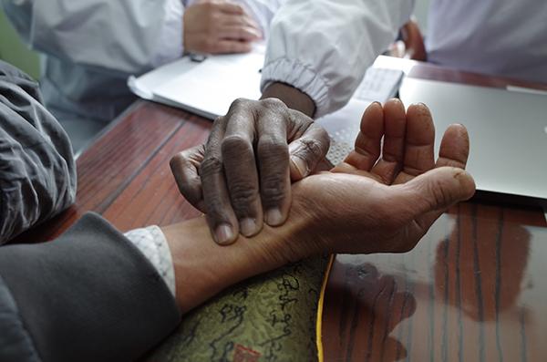 来自非洲的中医