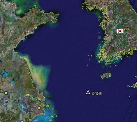 """中国军机进入苏岩礁西南部韩国所谓""""防空识别区"""" 韩军机出动"""
