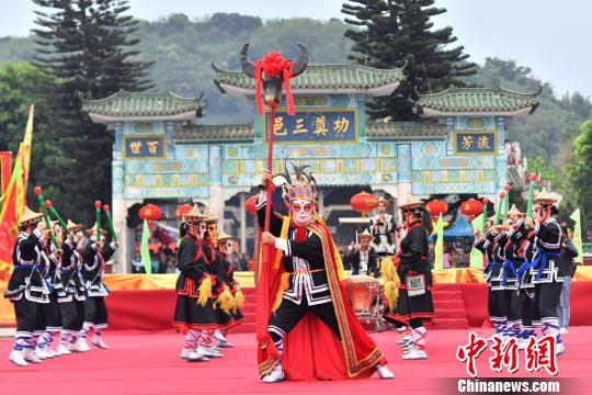 广东郁南首秀张公庙诞庆典打造传统文化特色小镇