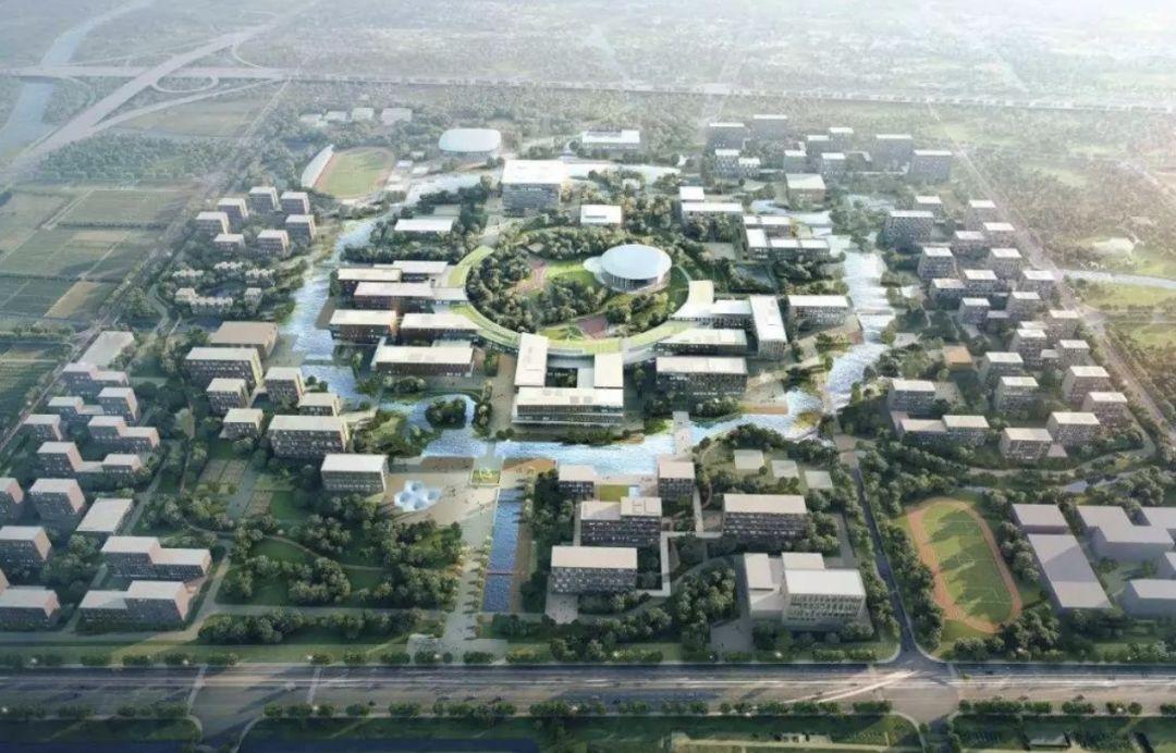 西湖大学云谷校区规划图 西湖大学官网 图