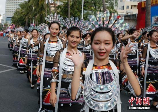 2018三亚国际音乐节3月1日在海南三亚湾启幕中新社记者王晓斌摄