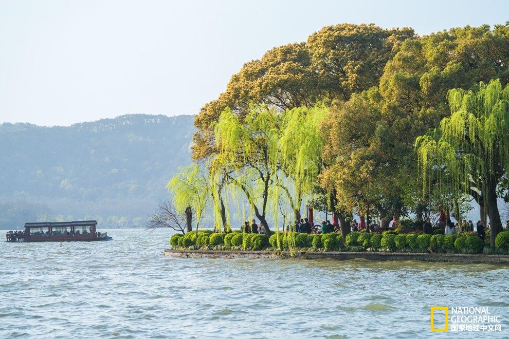 醉美西湖 四月的诗意全都融化在这一池春水里了