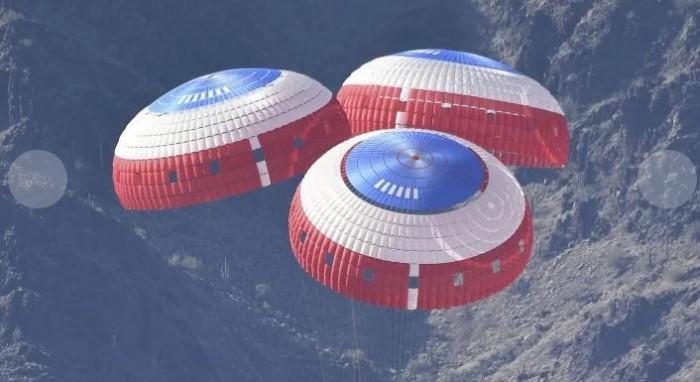 NASA与ESA共同测试高科技火星降落伞