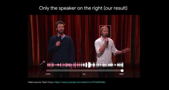 喧闹中你能辨识熟人声音,谷歌AI也想做到这点
