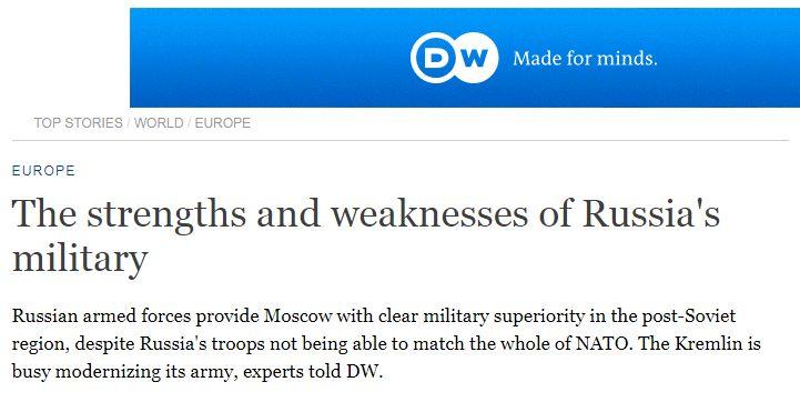 军事大国俄罗斯,如今软肋何在?