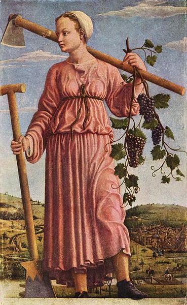 古希腊传说中的缪斯女神