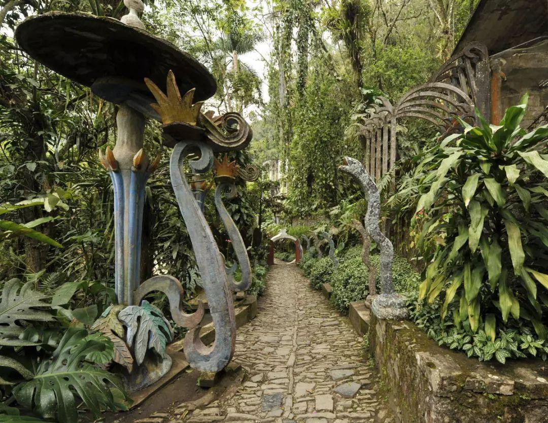 墨西哥有天堂!就在这个摇摇欲坠的空中花园里