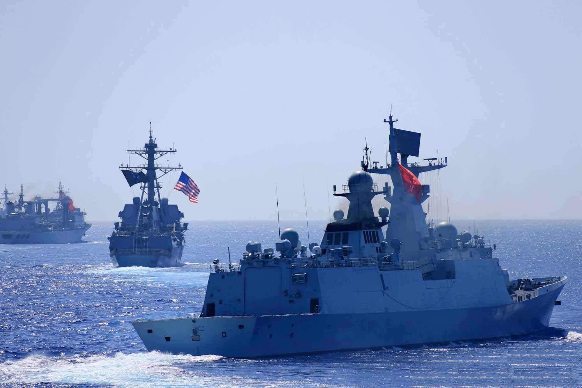 """以南海填岛为由 美国不再邀中国参加""""环太军演"""""""
