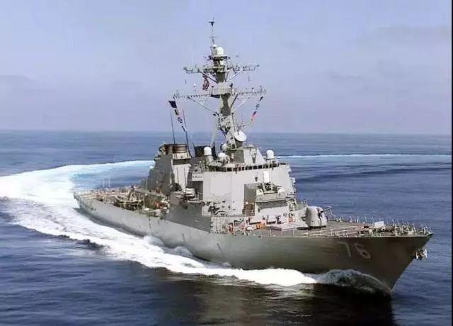 美舰擅闯中国西沙领海 解放军当即依法警告驱离