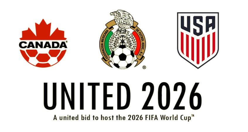 泰晤士报:美国、加拿大和墨西哥将举办2026年世界杯