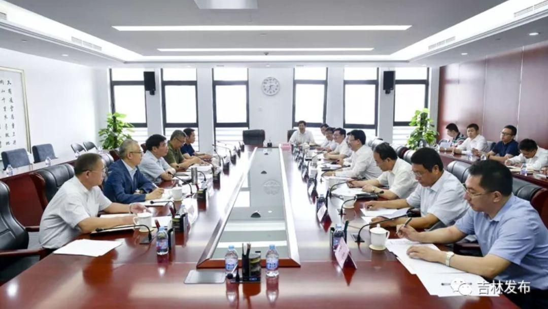 吉林省长进京,一天连见5位部长