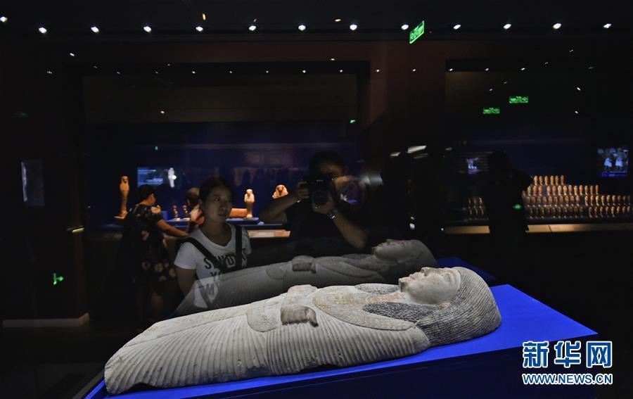 (文化)(2)辽宁省博物馆举办古埃及文物特展