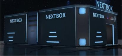 Next Box和外星人就像是一起陨落在北京最热闹的三里屯太古里