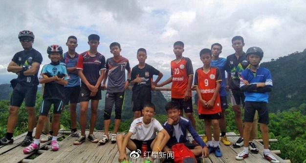 少年足球队队员图据社交媒体