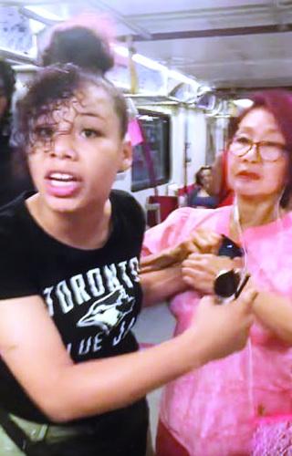 """加拿大女子索烟不成大叫""""滚回中国"""" 涉嫌歧视,目前已自首。(来源:加拿大《明报》)"""