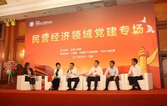 架起党与企业连心桥中国民营企业500强峰会党建专场召开