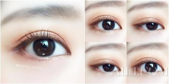 可萌可甜的软萌眼妆好感度提升100%