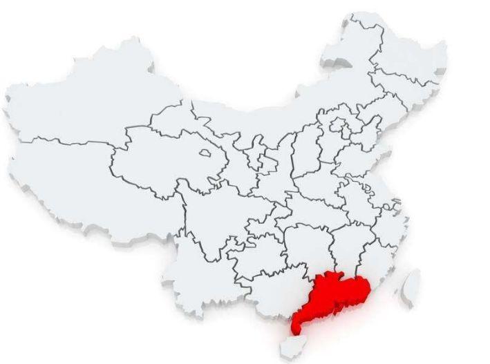 为什么广东看上去像三个省?