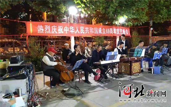 唐县举办庆祝国庆文艺演出(图)