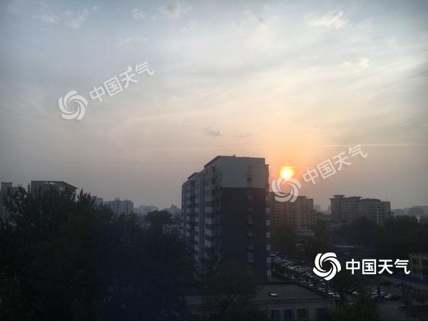 北京今天较宜登高赏秋 周日气象扩散条件进一步转差