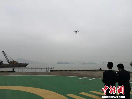 广州南沙海事立体监管积极防范冬季寒潮大风