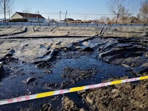 油泥油渣坑塘(2018年11月)