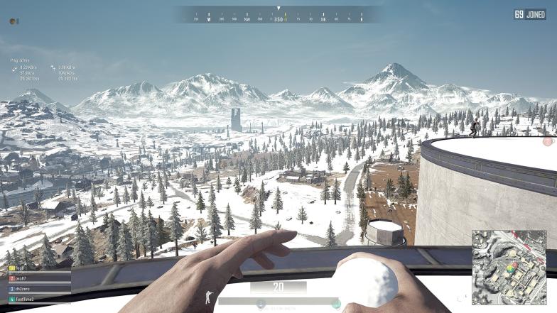 雪地地图正式上线测试服:景物逼真风景优美